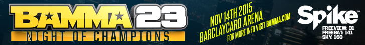 BAMMA 23 Tickets