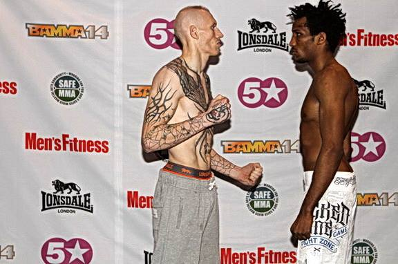 BAMMA 14 Weigh-In