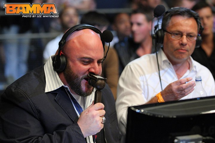 BAMMA 6 Presenting and Commentary Team