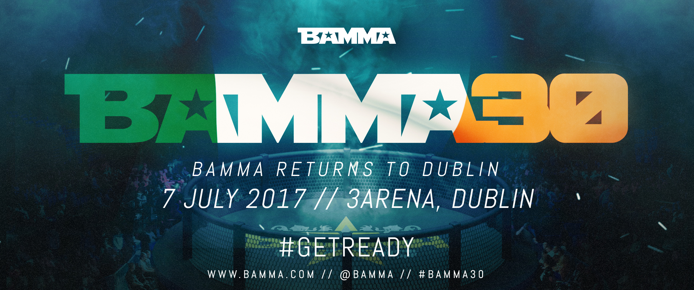 BAMMA 30 Returns to Dublin