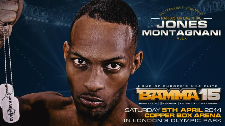 Alex Montagnani Vs. Nathan Jones joins the BAMMA 15 Lineup