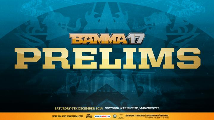 The First Arrives to Face The Handyman at BAMMA 17