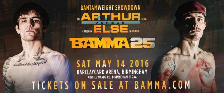 Arthur And Else On A Collision Course At BAMMA 25