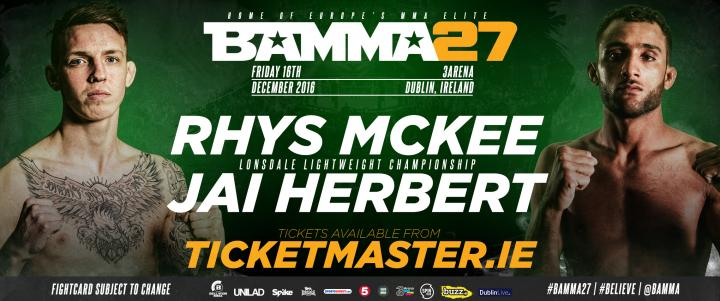 Lonsdale Lightweight Title On The Line At BAMMA 27