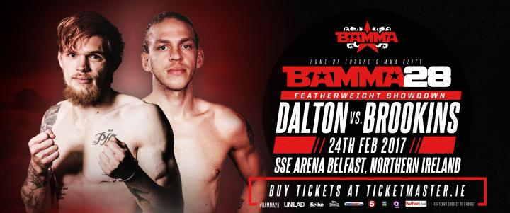 Decky Dalton To Face Jonathan Brookins at BAMMA 28