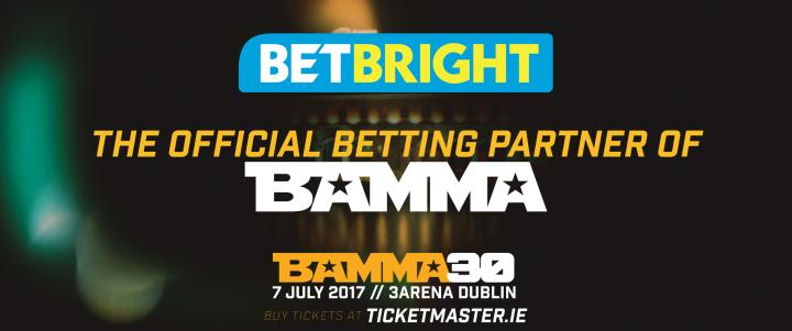 BAMMA Announces New Betting Partner BetBright
