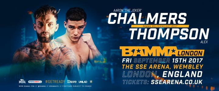 Aaron Chalmers Opponent Announced For BAMMA London