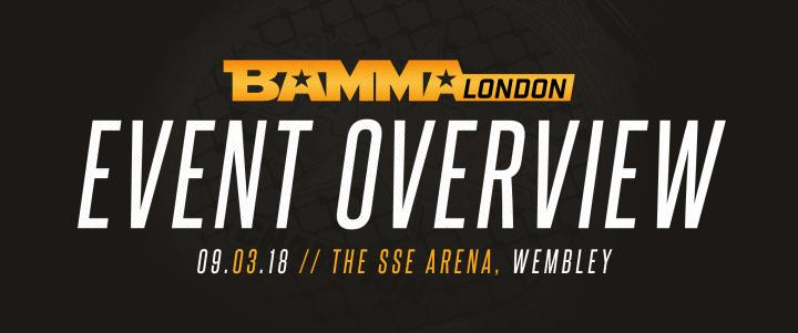 BAMMA London Event Overview