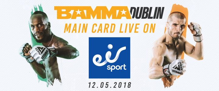 BAMMA 35: Lohore Vs. Pascu To Air LIVE On Eirsports