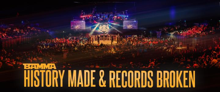 History MadeAnd Records broken At BAMMA 25