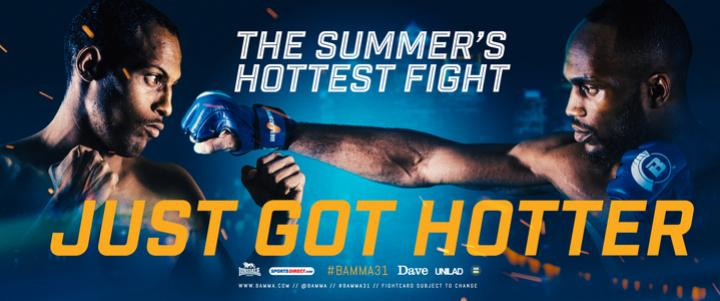 The summer's hottest fight just got hotter!