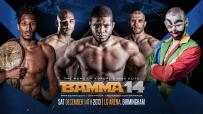 BAMMA 14: Where To Watch