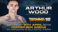 Wood Replaces Crawford Against Arthur at BAMMA 15