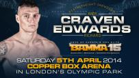 Andy Craven to face Richard Edwards at BAMMA 15
