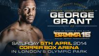 Jack Grant replaces Roberts to face George at BAMMA 15