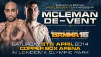 BAMMA Lonsdale British Middleweight Title Added To BAMMA 15