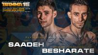Rany Saadeh Vs. Mahmood Besharate Joins the BAMMA 15 Lineup