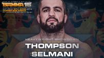 Oli Thompson Vs. Gzim Selmani to headline BAMMA 15