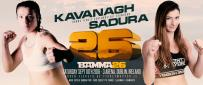 BAMMA 26 Adds 3 More Bouts