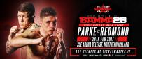 BAMMA 28 - Parke Vs. Redmond Announced