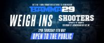 Shooters Bar Host BAMMA 29 Public Weigh Ins Thurs 11th May
