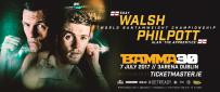 Walsh Vs Philpott For The Bantamweight Title At BAMMA 30