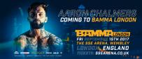 Aaron Chalmers returns at BAMMA London.