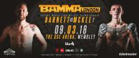 Barnett Vs. McKee II Now For The Lightweight World Title