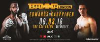 Fabian Edwards Vs. Kent Kauppinen Announced For BAMMA 34