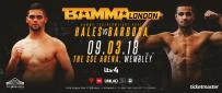 Mike Hales Vs. Diego Barbosa Set For BAMMA 34