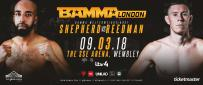 Jahreau Shepherd Vs. James Reedman at BAMMA 34