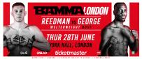 James Reedman Vs. Jefferson George At BAMMA Fight Night