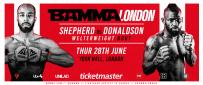 Shepherd Vs. Donaldson Added To BAMMA Fight Night London