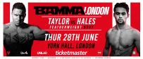 Taylor Vs. Hales at BAMMA Fight Night London Confirmed