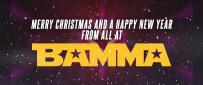 Happy Christmas from BAMMA!