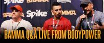 BAMMA Q&A LIVE From The Bodypower Expo